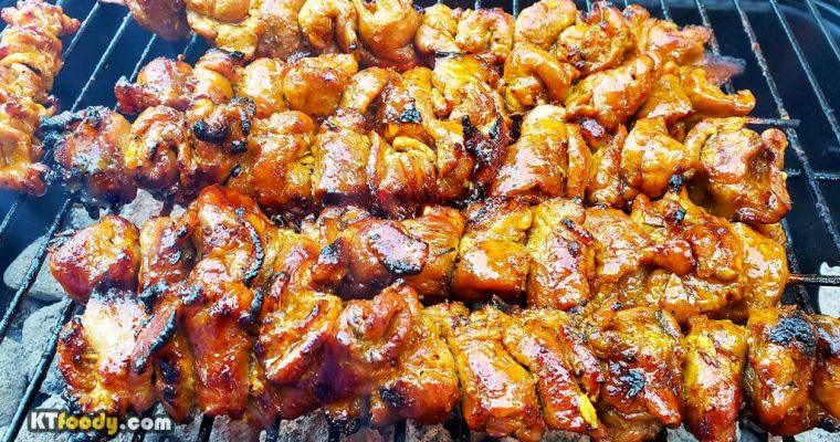 Grilled Pork Skewers Recipe