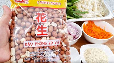 Ingredient raw peanuts