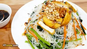 Rice Noodle - Completed dish