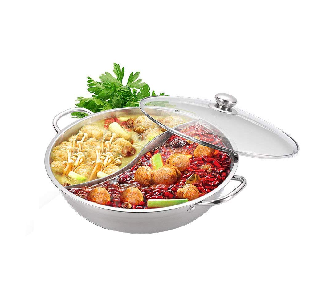 Hotpot with divider