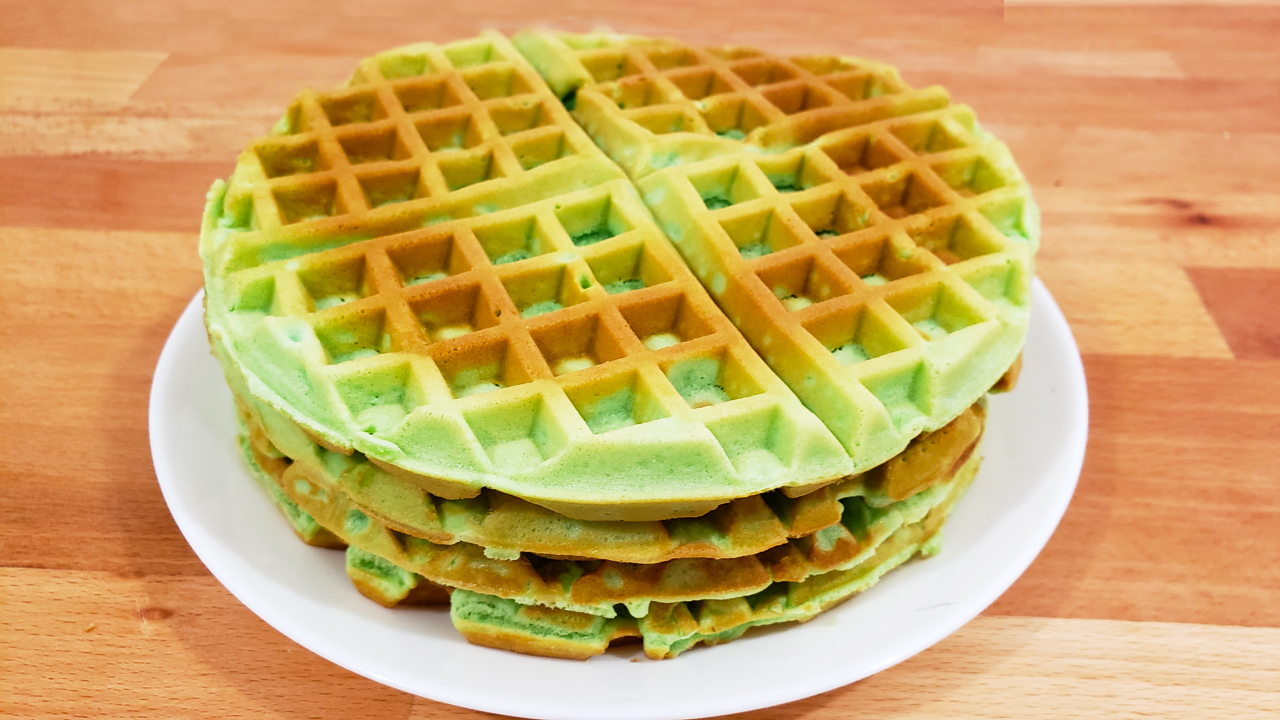Coconut Waffle - Feature Image