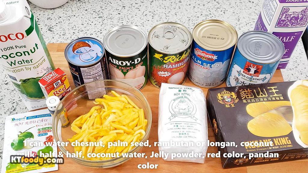 ThatSweetGruel - Ingredients