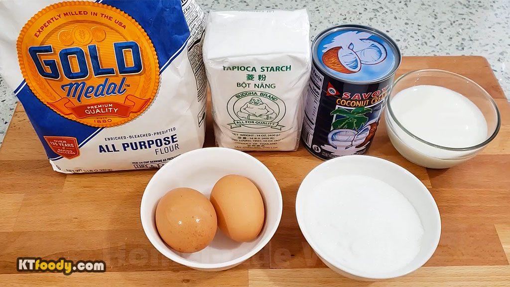 Waffle - Ingredients