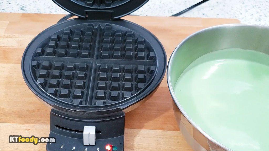 Waffle - Prepping Waffle Maker