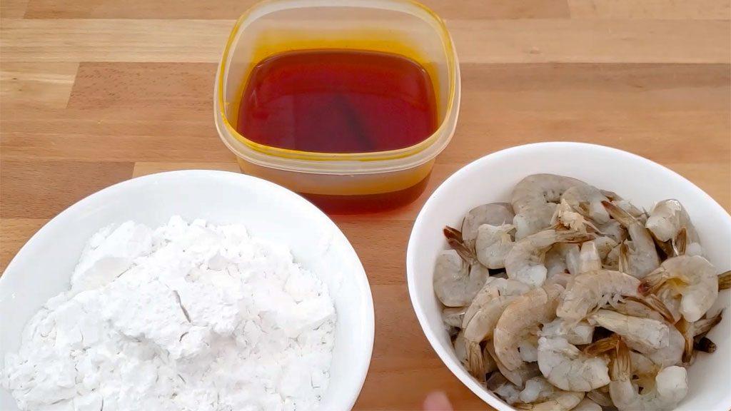 VietnameseShrimpDumpling - ingredients