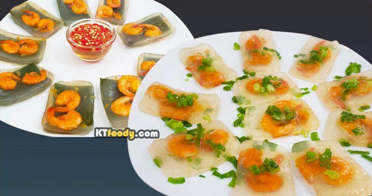 Quick and Easy Vietnamese Shrimp Dumpling (Bánh Bột Lọc)