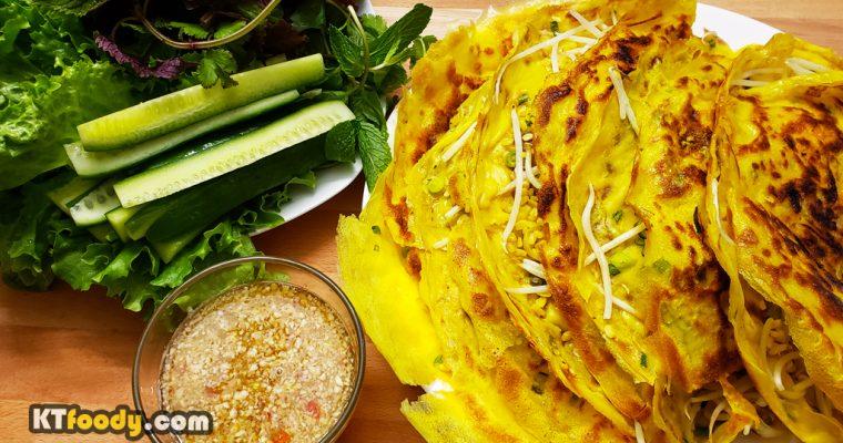 Vietnamese Savory Crepe (Banh Xeo) Recipe