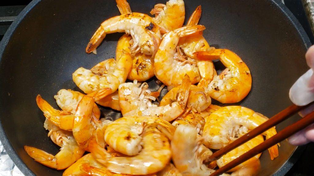 banhxeo - cook shrimps