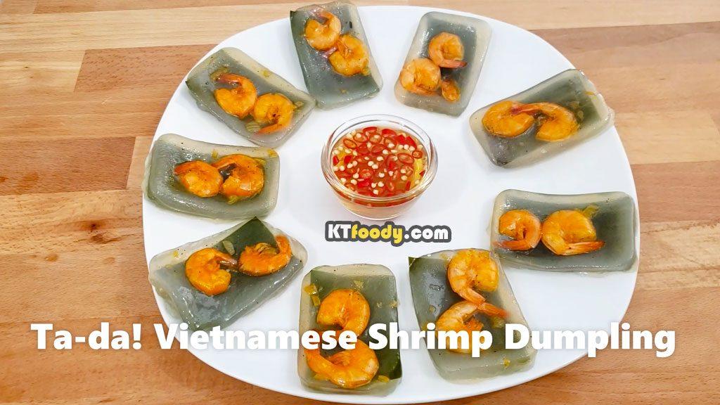 VietnameseShrimpDumpling - completed dish
