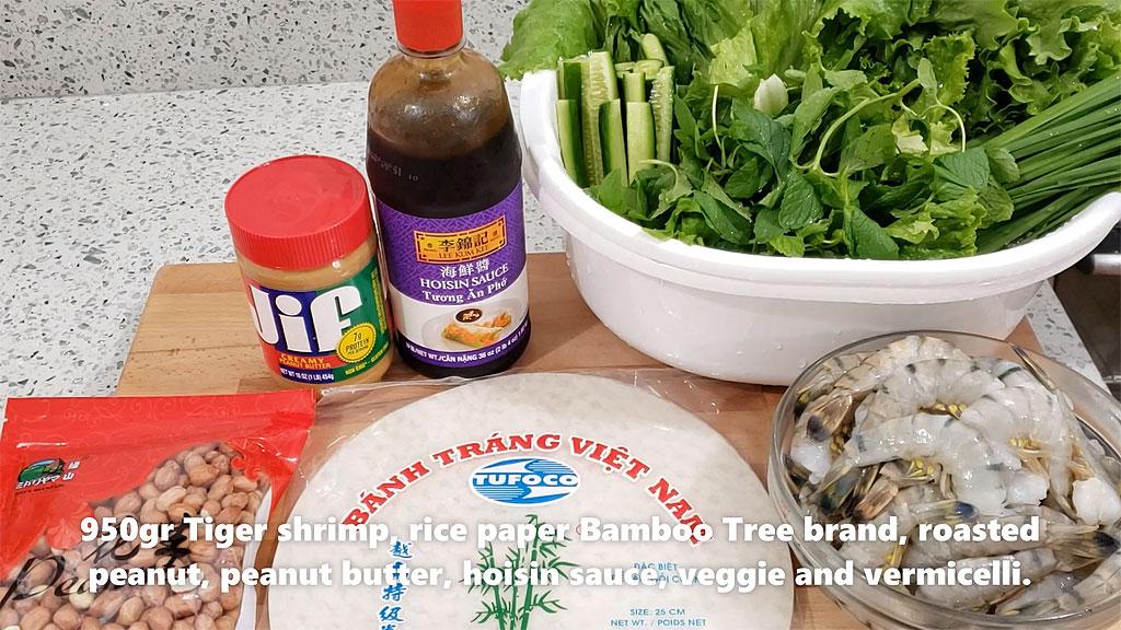 SpringRolls - Ingredients
