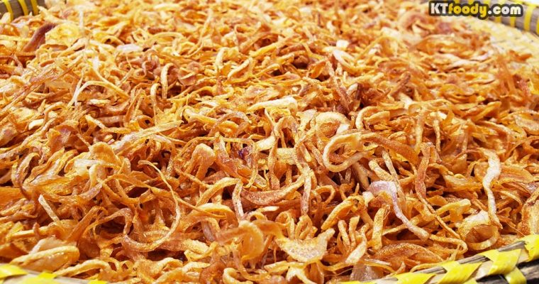 Fried Shallots (Hanh Phi) Recipe