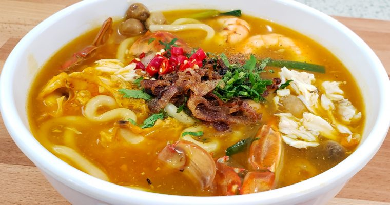 Vietnamese Crab Udon Recipe